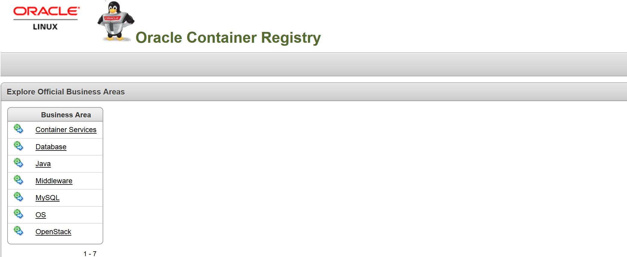 Oracle Container Registry – Docker for Oracle Databases « All about